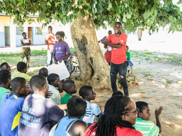Peer educator and musician Alfred | VSO
