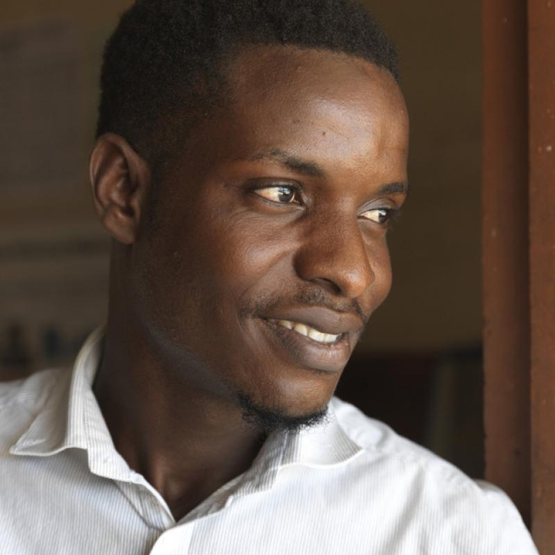 ICS volunteer Ibraham Kamara, Sierra Leone