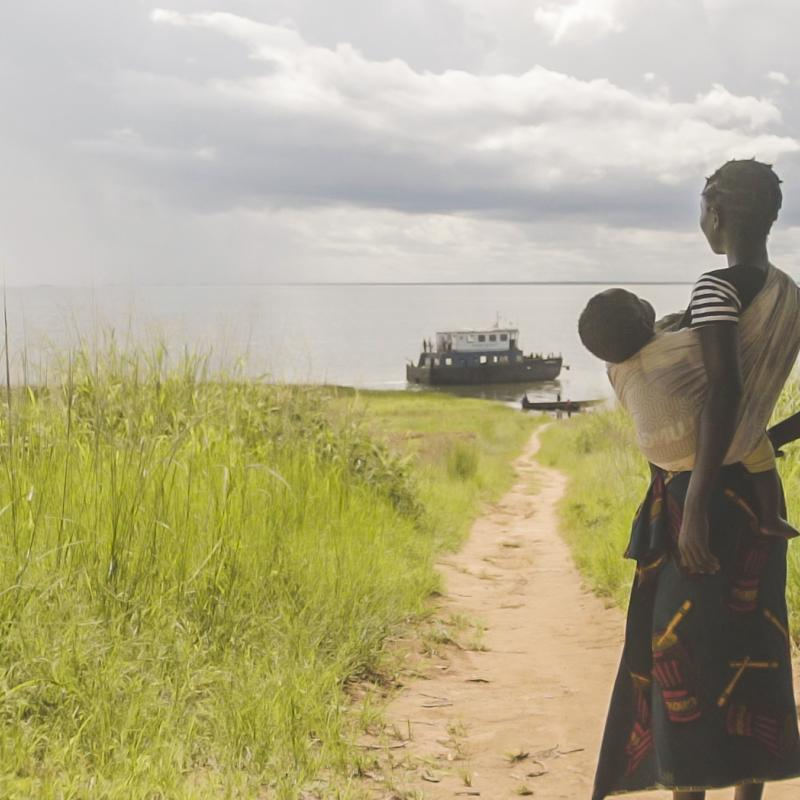 Teenage mother on Zambian Island | Reaching the Island | VSO