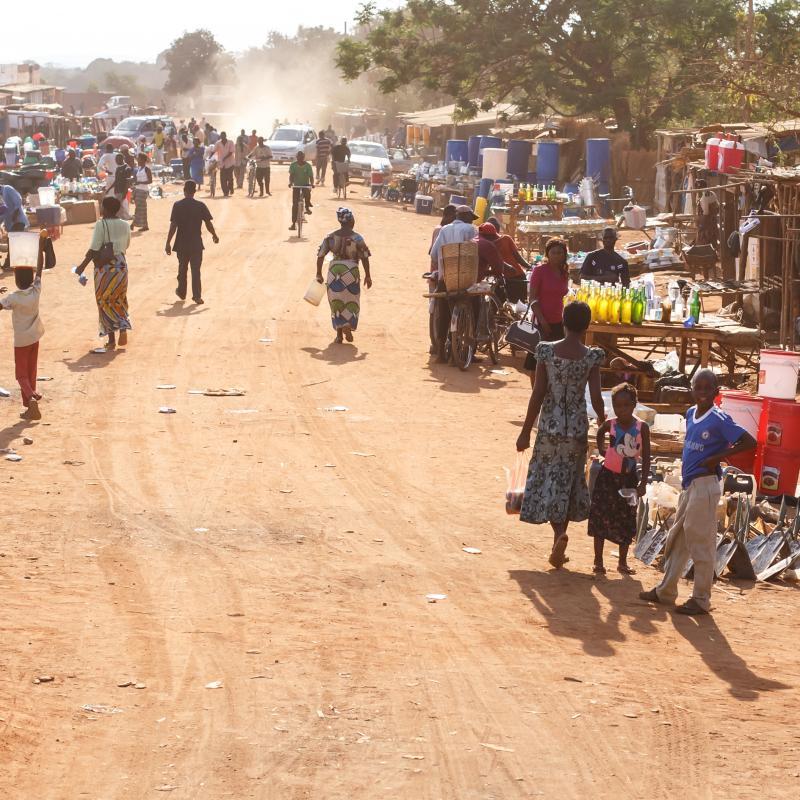 Zambia street scene
