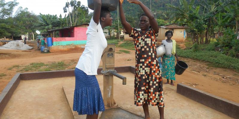 Up to 500 people are now able access clean drinking water
