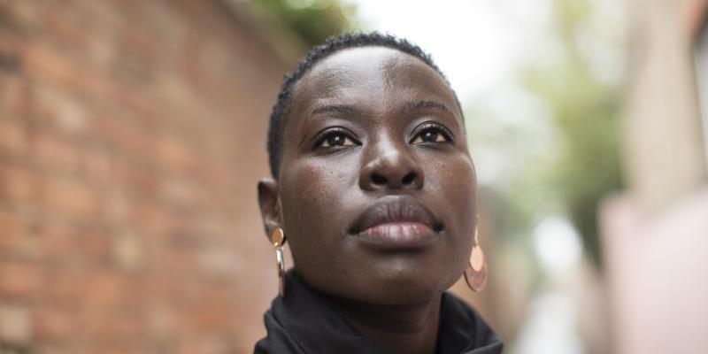 A portrait of a Tanzanian woman