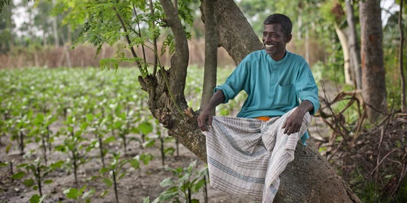 Abdul Latif is from Kafikhal village, Bangladesh