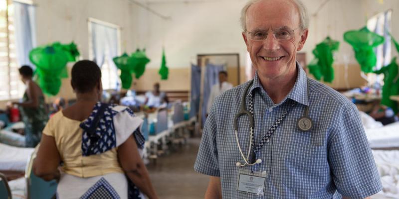 Consultant physician Michael O'Donovan