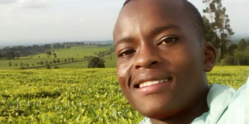 Volunteer Edwin in Kenya