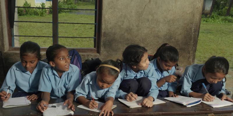 Children from Bal Mandir School, Nepal