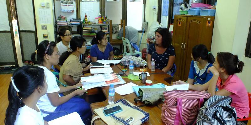 Jo-Povey, Organisation development advisor, Myanmar