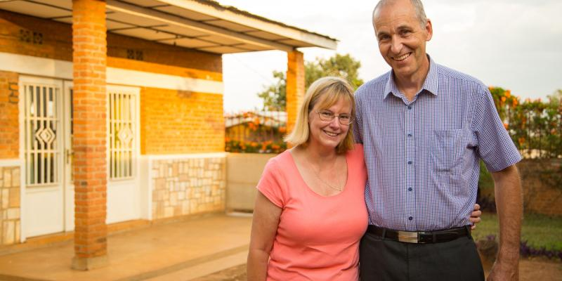 John and Sandra are education volunteers supporting work to improve teaching in Rwanda