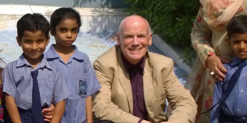 Bill Carr VSO volunteer in Pakistan