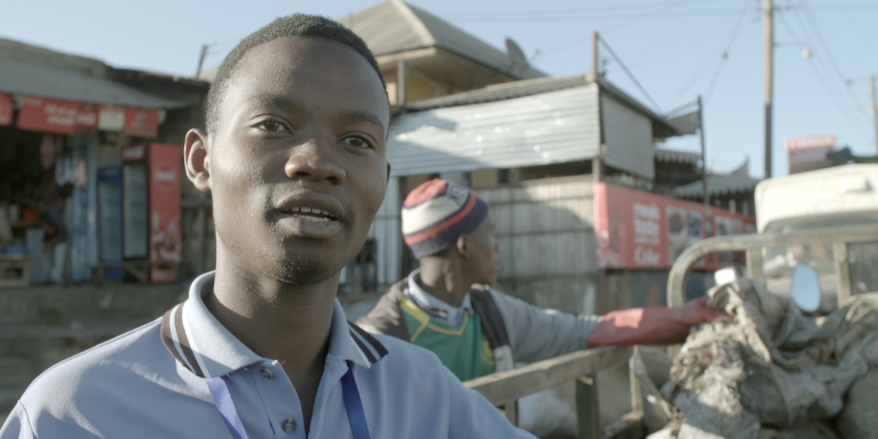 Paul Myovelah, 23, is on a mission to clean up his home town of Iringa, Tanzania through various business ventures.