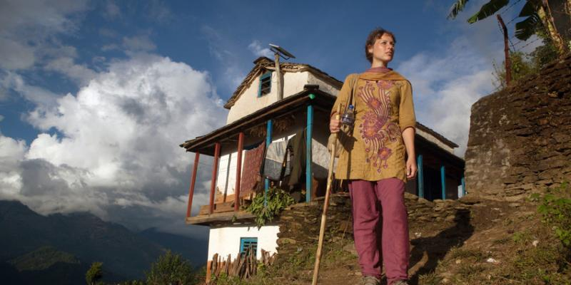 VSO volunteer Cath Nixon in Nepal