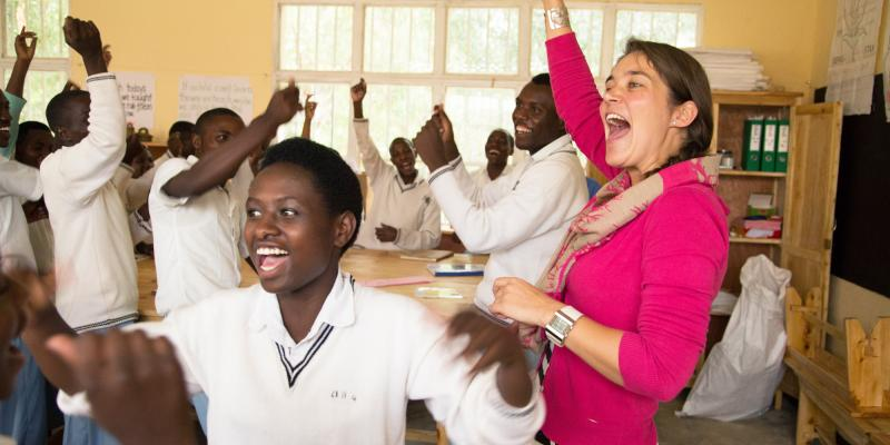 Petra Van Der Spek is a Methodology and Resource advisor at a Teacher Trainer College in Muramba
