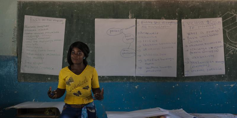 Tascha Chanda in Zambia