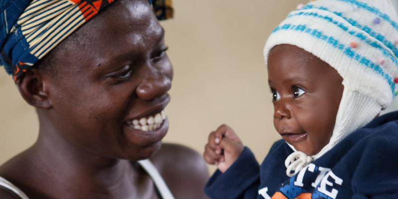 Mother and child in Tanzania   VSO