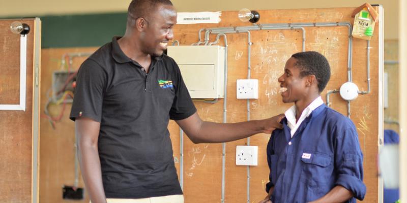 VSO volunteer Richard in Tanzania