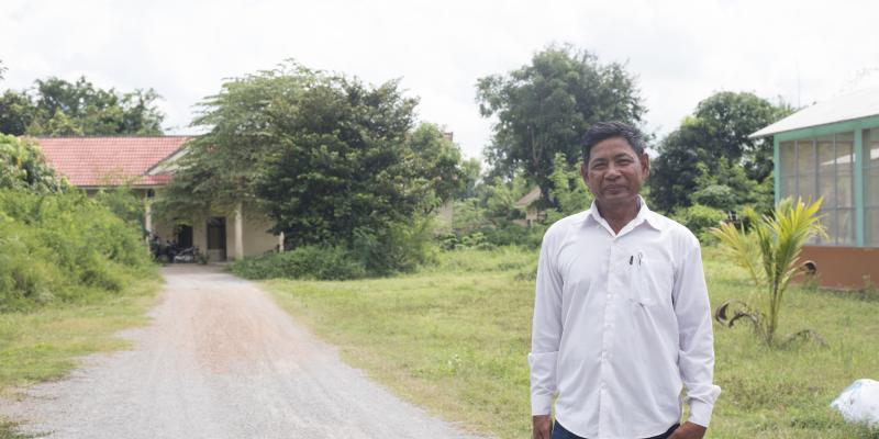 Prak Sim, farmer from Cambodia