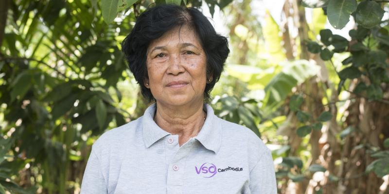 Ly Theort, cooperative leader, Cambodia