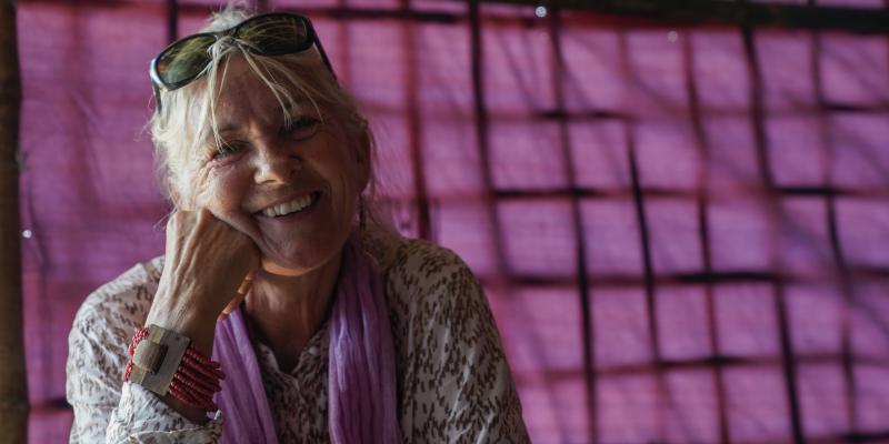Fiona Kirby VSO education volunteer
