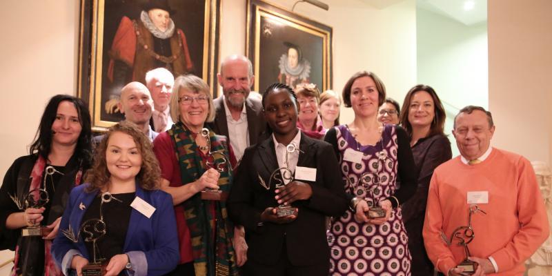 VSO volunteer award winners 2016