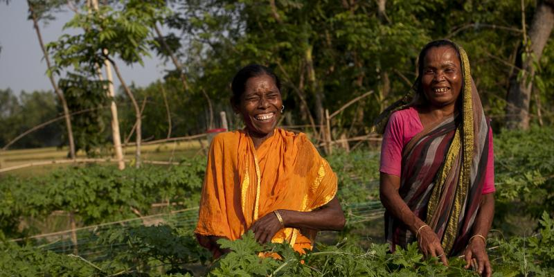 Growing Together women farmers Bangladesh
