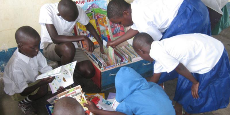 Box library in Tanzania