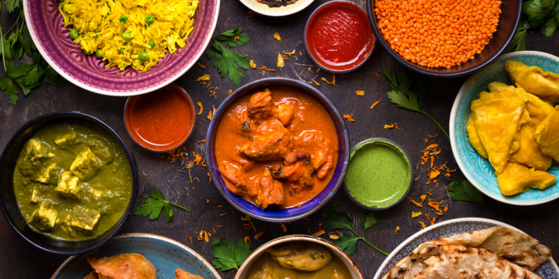 curry night fundraising
