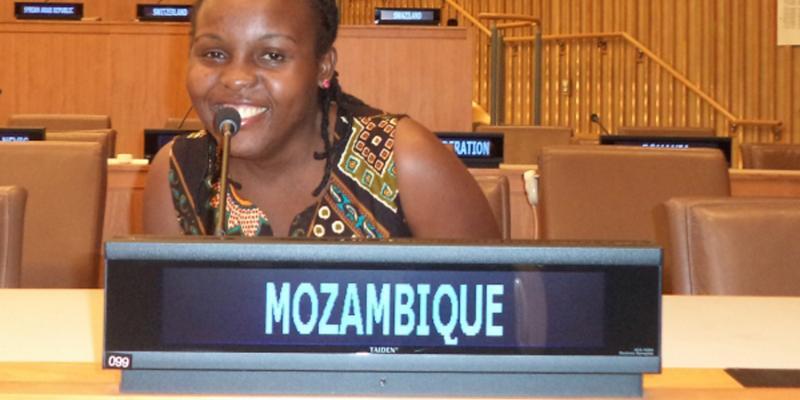 Elisabeth Kisakye volunteer in Mozambique at UK