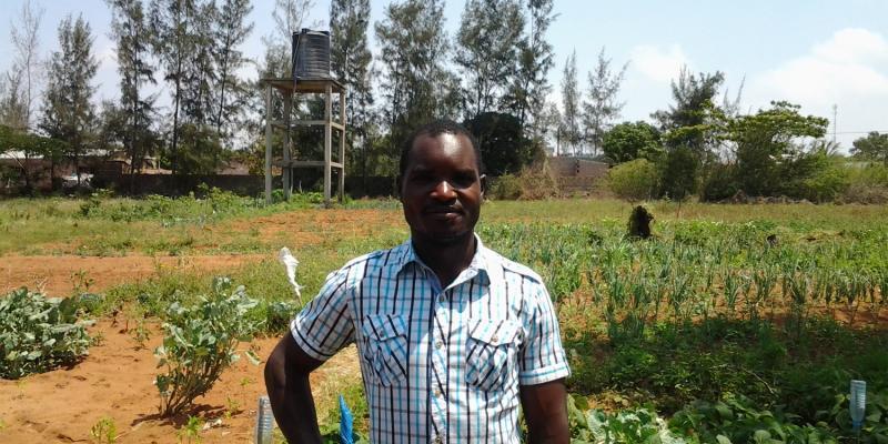 mohammed volunteer in Mozambique