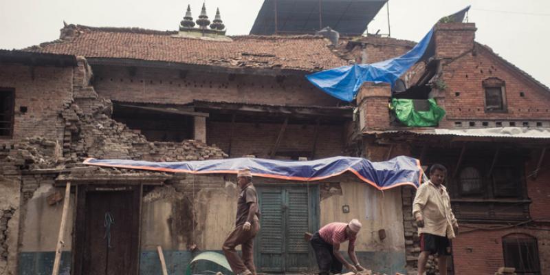 Bhaktapur, Nepal, after the 2015 Earthquake