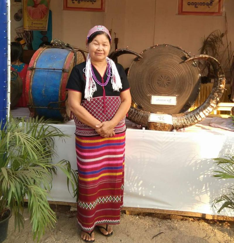 Nan Myint Tin became an inclusion champion, and then had leadership training.