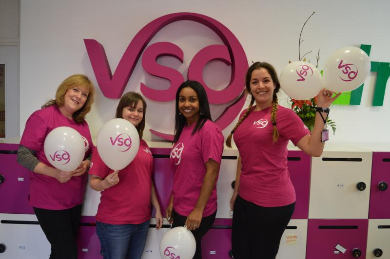 The VSO fundraising team