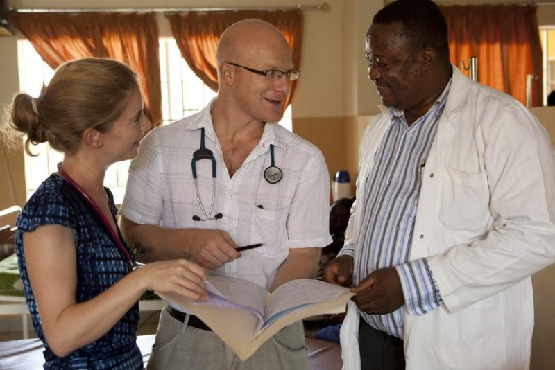 Volunteer GP, Dr Alex Burns, Sierra-Leone
