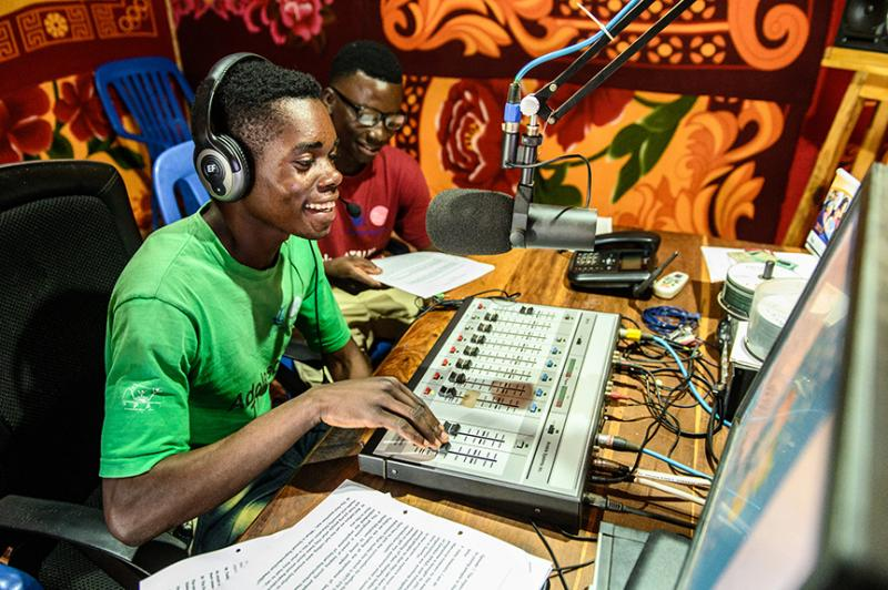 Using radio to spread sexual health messages | VSO
