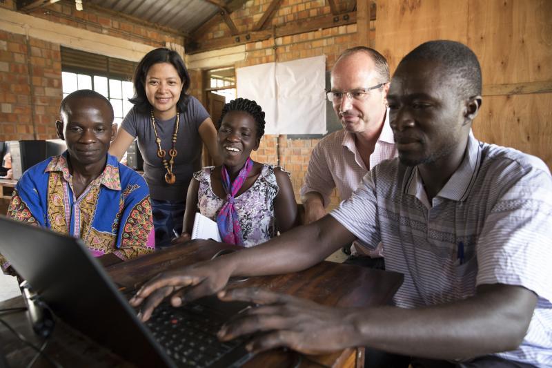 Marketing and communications volunteering in Uganda