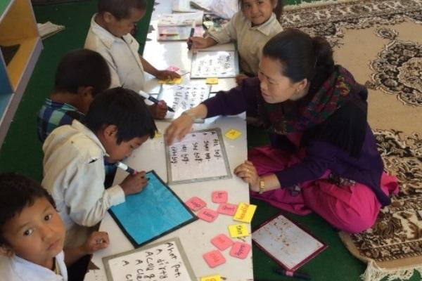 Prepared resources used in lessons, Nepal