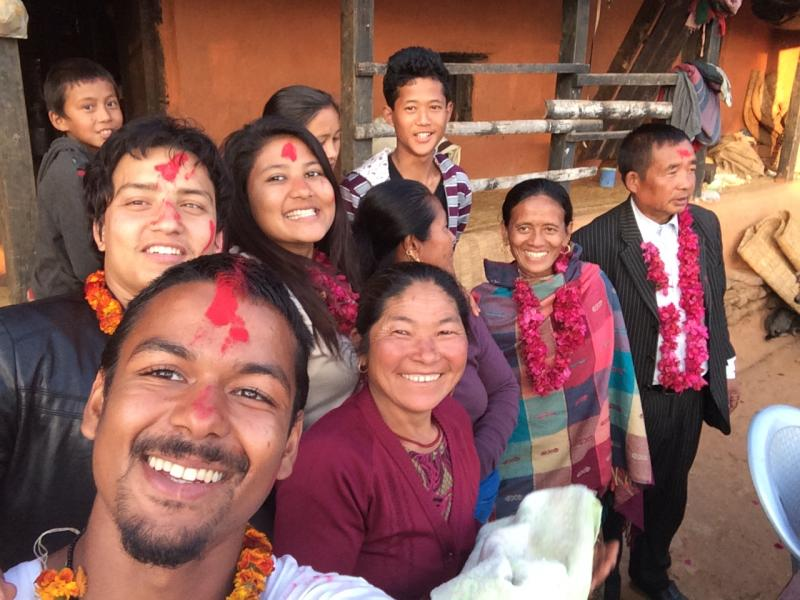 VSO ICS youth volunteer Danial on placement in Nepal