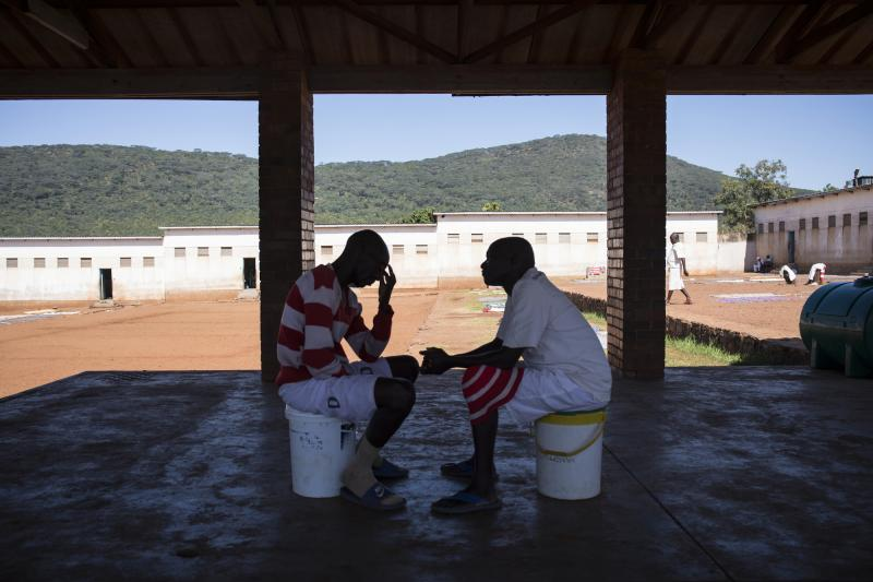 VSO prison counselling in Zimbabwe