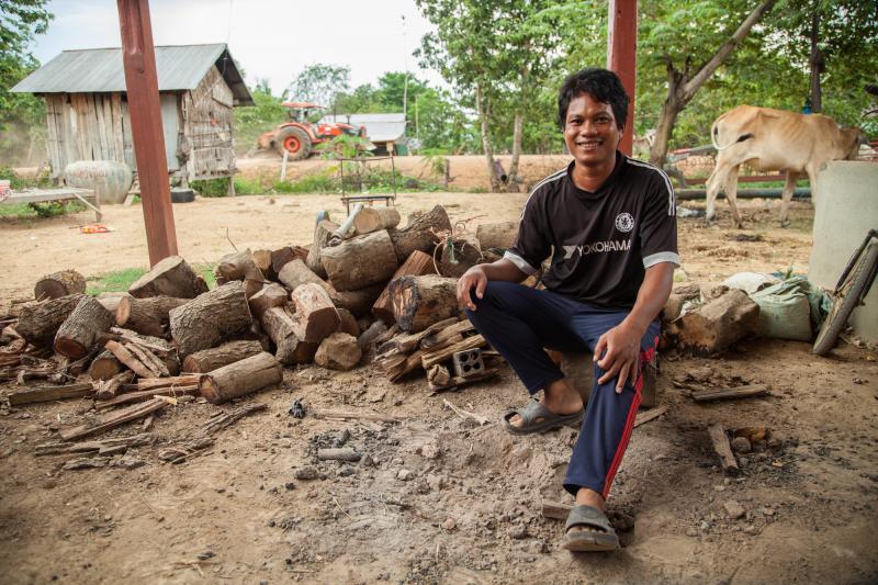 VSO Volunteer award-winner Socheat Roeurm