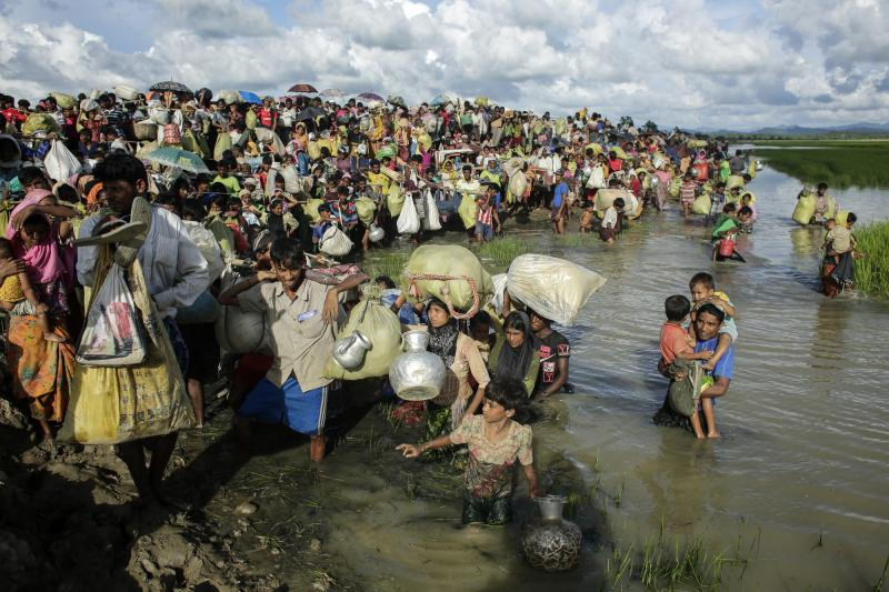 Rohingya refugee influx into Bangladesh