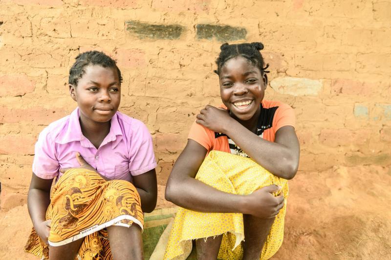 Two girls in Zambia | VSO
