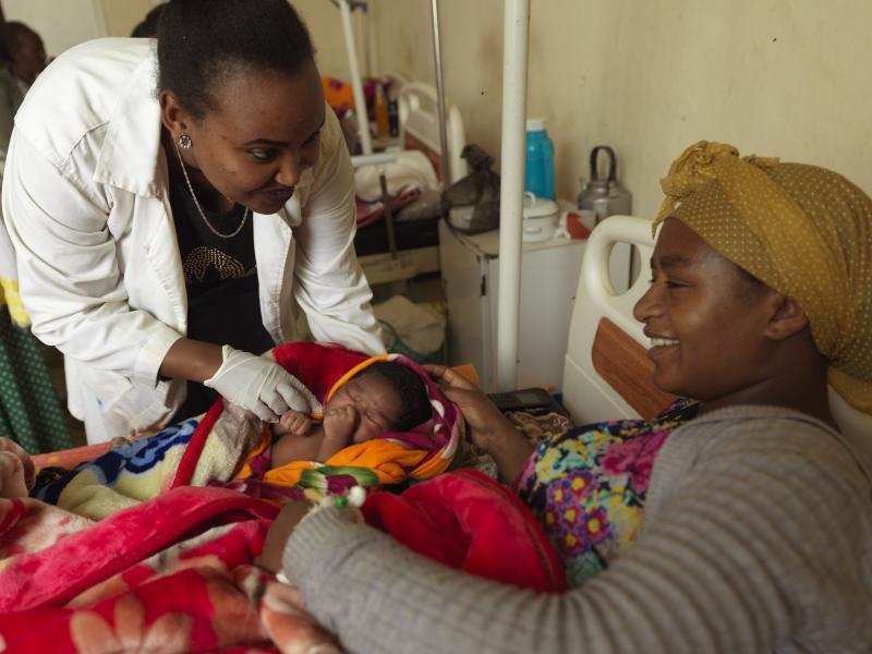 Midwife  in Ethiopia