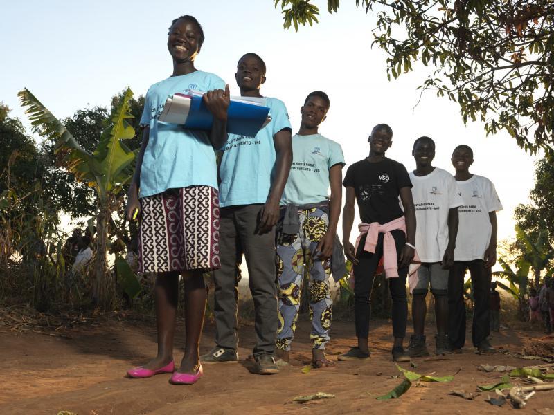 Community volunteers who were recruited in the wake of Cyclone Idai