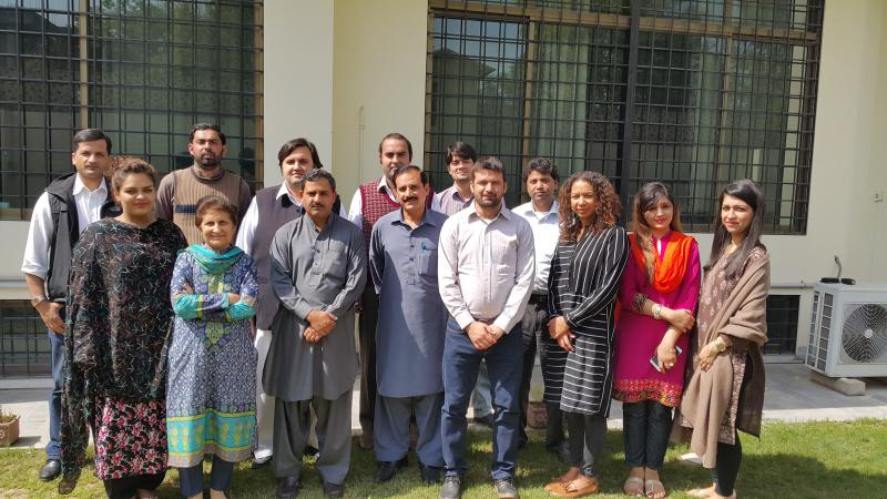 Our team in VSO Pakistan