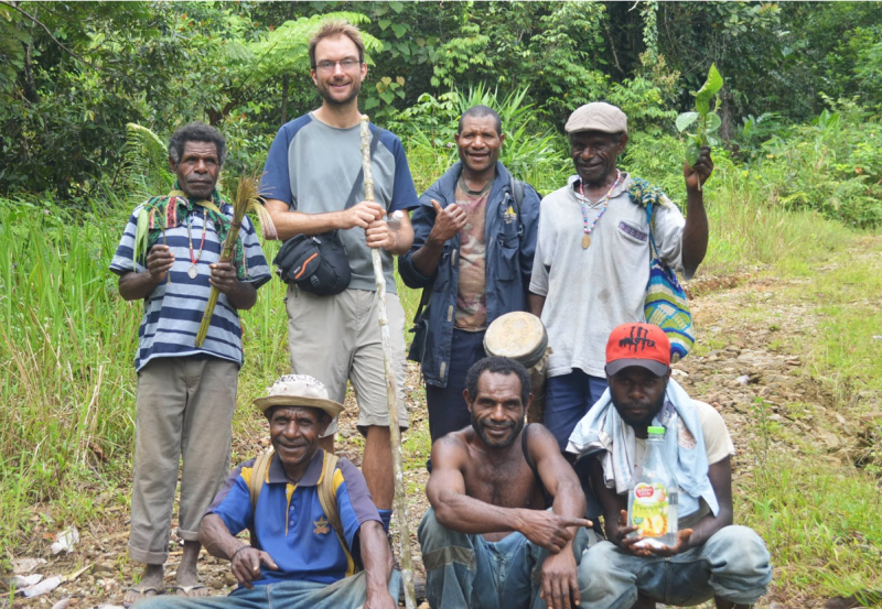 James Skinner, PNG volunteer