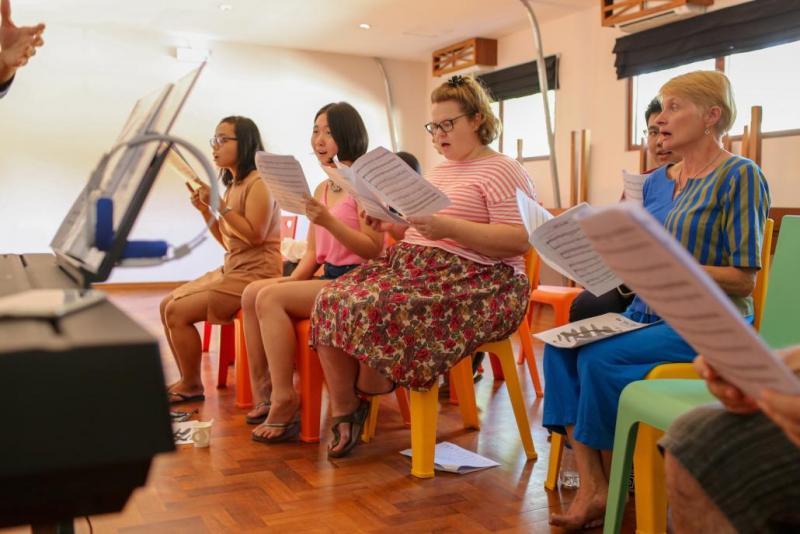 &Proud, Myanmar's first LGBT choir, featuring Jane Stageman.