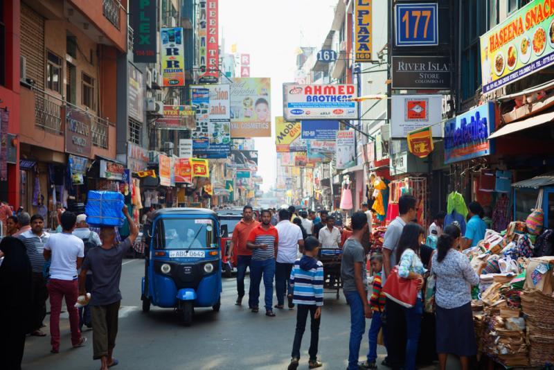 street scene Colombo, Sri Lanka