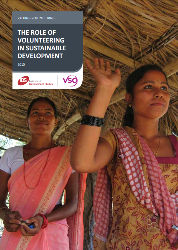 Cover of the Valuing Volunteering report